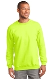 Crewneck Sweatshirt Safety Green Thumbnail
