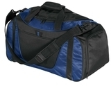 Improved Two-tone Small Duffel Navy with Black Thumbnail