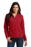 Women's Value Fleece Jacket True Red Thumbnail