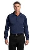 Long Sleeve Snag-Proof Tactical Performance Polo Dark Navy Thumbnail