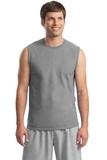 Ultra Cotton Sleeveless T-shirt Sport Grey Thumbnail
