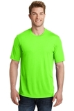 Sport-Tek PosiCharge Competitor Cotton Touch Tee Neon Green Thumbnail