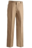 Men's Flat Front Chino Pant Tan Thumbnail