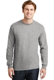 Dryblend 50 Cotton/50 Dryblend Poly Long Sleeve T-shirt Sport Grey Thumbnail