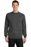 7.8-oz Crewneck Sweatshirt Dark Heather Grey Thumbnail