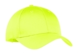 6-panel Twill Cap Neon Yellow Thumbnail
