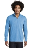 Tri-Blend Wicking 1/4-Zip Pullover Pond Blue Heather Thumbnail