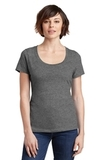 Women's Made Perfect Weight Scoop Tee Heathered Nickel Thumbnail