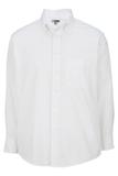 Men's Dress Button Down Oxford LS White Thumbnail