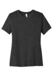 BELLACANVAS Women's Relaxed Jersey Short Sleeve Tee Charcoal Black Triblend Thumbnail