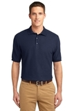 Tall Sized Silk Touch Polo Shirt Navy Thumbnail