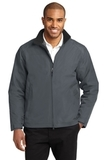 Challenger 2 Jacket Steel Grey with True Black Thumbnail