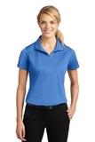 Women's Micropique Moisture Wicking Polo Shirt Blue Lake Thumbnail