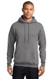 7.8-oz Pullover Hooded Sweatshirt Medium Grey Thumbnail
