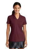 Women's Nike Golf Shirt Dri-FIT Micro Pique Polo Shirt Team Red Thumbnail