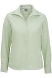 Women's Easy Care Poplin Shirt LS Cucumber Thumbnail