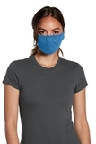 V.I.T. Shaped Face Mask 5 pack (100 packs 1 Case) Heather Royal Thumbnail