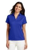 Women's Performance Fine Jacquard Polo Shirt Hyper Blue Thumbnail