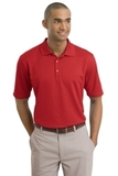 Nike Golf Shirt Dri-FIT Textured Polo Sport Red Thumbnail