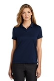 Women's Nike Golf Dry Essential Solid Polo Midnight Navy Thumbnail