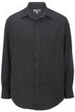 Edwards Men's Batiste Dress Shirt Steel Grey Thumbnail