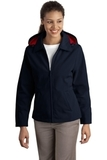 Women's Legacy Jacket Dark Navy with Red Thumbnail