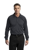 Long Sleeve Snag-Proof Tactical Performance Polo Charcoal Thumbnail