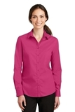 Women's SuperPro Twill Shirt Pink Azalea Thumbnail