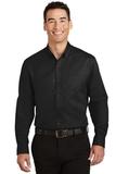 Tall SuperPro Twill Shirt Black Thumbnail