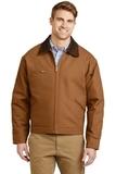 Duck Cloth Work Jacket Duck Brown Thumbnail