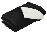 Mountain Lodge Blanket Black Thumbnail