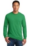 Heavy Cotton 100 Cotton Long Sleeve T-shirt Irish Green Thumbnail
