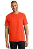 Tagless 100 Comfortsoft Cotton T-shirt Orange Thumbnail