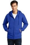 Port & Company Fan Favorite Fleece Full-Zip Hooded Sweatshirt True Royal Thumbnail