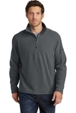 Eddie Bauer1/2-Zip Microfleece Jacket Grey Steel Thumbnail