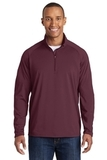 Sport-wick Stretch 1/2-zip Pullover Maroon Thumbnail