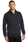 1/2-Zip Job Shirt Dark Navy Thumbnail