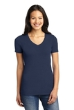 Women's Concept Stretch V-neck Tee Dress Blue Navy Thumbnail