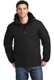 Vortex Waterproof 3-in-1 Jacket Black with Black Thumbnail