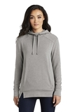 Women's OGIO Luuma Pullover Fleece Hoodie Petrol Grey Heather Thumbnail