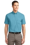 Short Sleeve Easy Care Shirt Maui Blue Thumbnail