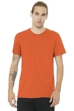BELLACANVAS Unisex Jersey Short Sleeve Tee Orange Thumbnail