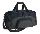 Improved Colorblock Small Sport Duffel Navy with Dark Charcoal Thumbnail