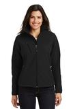 Women's Textured Soft Shell Jacket Black Thumbnail