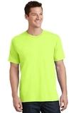 5.5-oz 100 Cotton T-shirt Neon Yellow Thumbnail