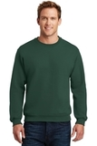 Super Sweats Crewneck Sweatshirt Forest Green Thumbnail
