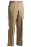Women's Flat Front Cargo Pant Tan Thumbnail
