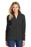 Women's Summit Fleece FullZip Jacket Black with Black Thumbnail