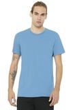 BELLACANVAS Unisex Jersey Short Sleeve Tee Ocean Blue Thumbnail