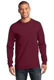 Essential Long Sleeve T-shirt Cardinal Thumbnail
